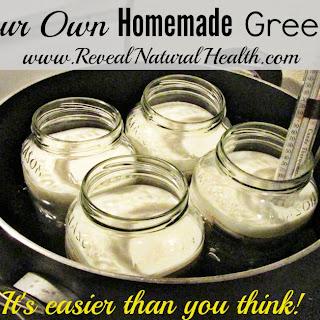 Make Your Own Homemade Greek Yogurt