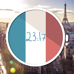 French Flag Watch Face Icon