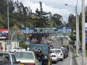Photo: IPIALES, NARIÑO, COLOMBIA - PUENTE INTERNACIONAL DE RUMICHACA. FRONTERA ENTRE COLOMBI Y ECUADOR. FOTO POR ARTUR CORAL /IPITIMES.COM