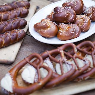 Bavarian-Style Soft Pretzels (Laugenbrezeln)