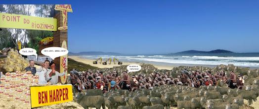 Photo: Movimento do sul da ilha contra os mega eventos