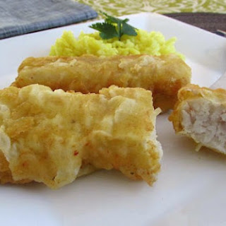 Fried Hake Loins.
