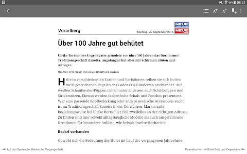NEUE Vorarlberger Tageszeitung screenshot 10