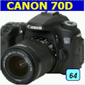 Learn About the Canon 70D Camera icon
