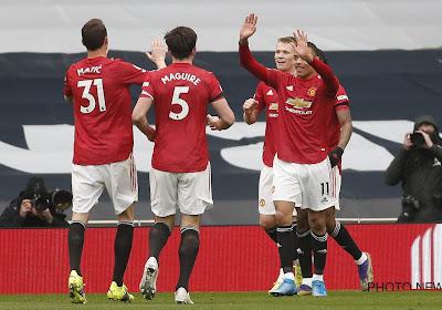 Premier League : Manchester United renverse Tottenham