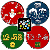 Christmas Watch Face Pack Free - Snow & Winter