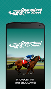 Guaranteed Tip Sheet - Horse Racing Picks- screenshot thumbnail