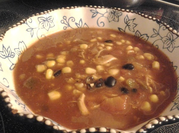 Mexican Chicken Soup - Slow Cooker Recipe
