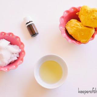 Body Butter for Dry Winter Skin.