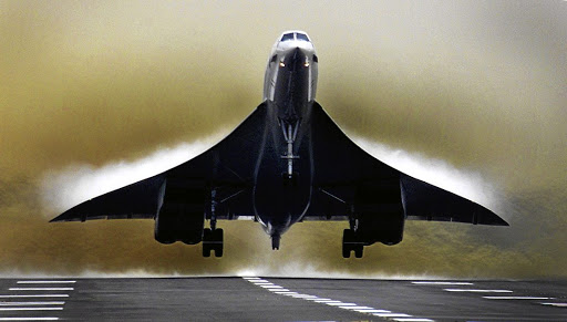 Need for speed: Start-up company Boom hopes to avoid the pitfalls experienced by the Concorde. Picture: REUTERS