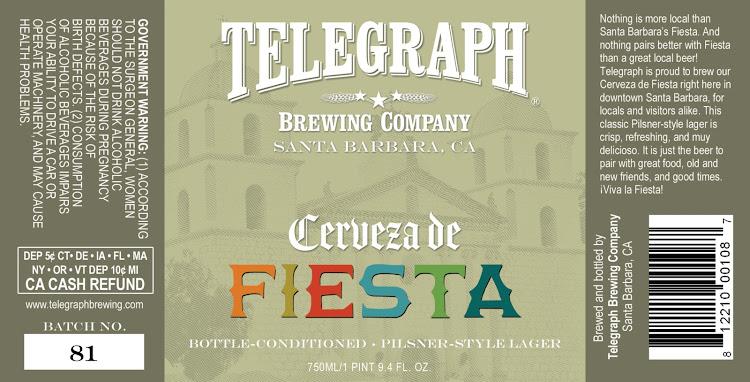 Logo of Telegraph Cerveza De Fiesta