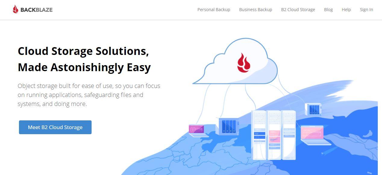 Backblaze Cloud Backup Solutions