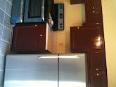 Photo: Kitchen view with appliances