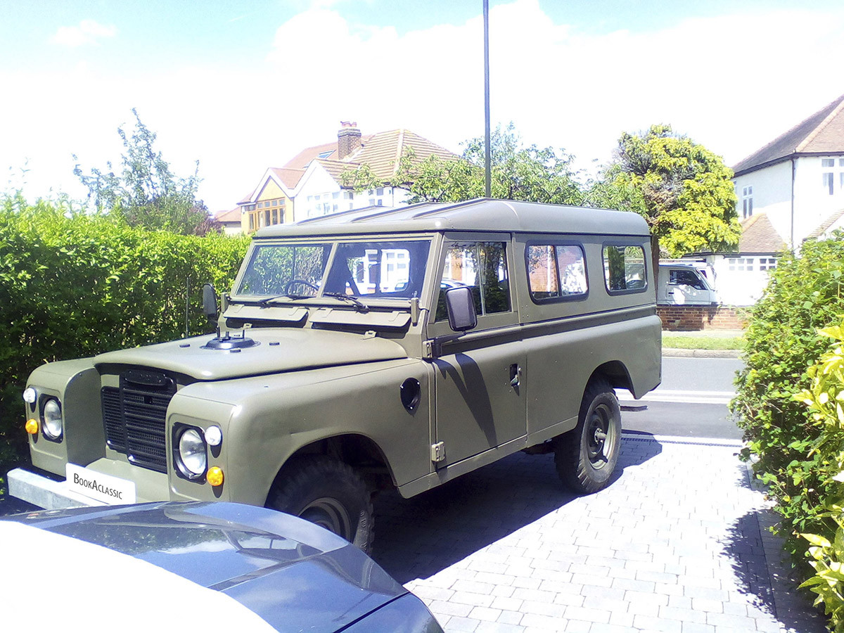 Land Rover Three Series 109 Hire London