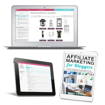 Learn how to work smarter, not hard and earn more money with the blog traffic you already have! Affiliate Marketing for Bloggers will teach you how.