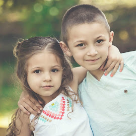 Big brother by Jenny Hammer - Babies & Children Children Candids ( sister, girl, brother, siblings, boy,  )