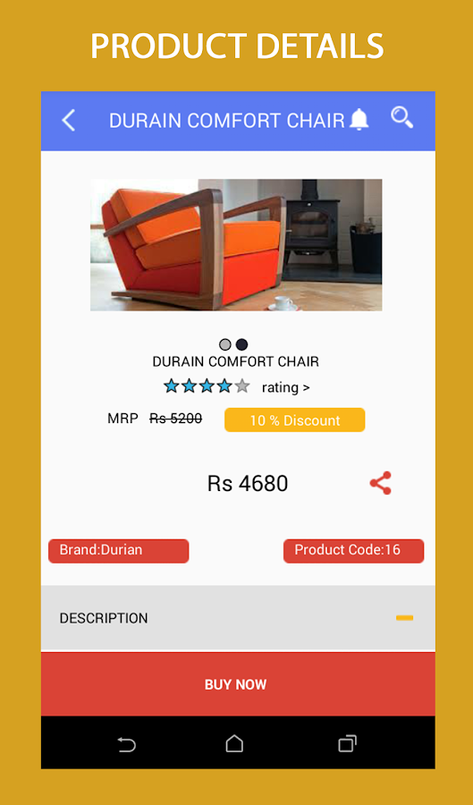 Raj Furniture Store- screenshot