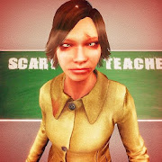 Scary School Teacher Games 3D: Hello Spooky