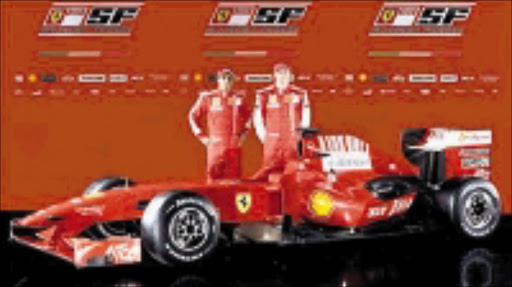 NEW BREED: Ferrari's F60 is named in honour of the manufacturer's 60th season in motor racing. Pic. Unknown.