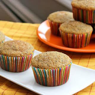 Blood Orange Poppy Seed Muffins.