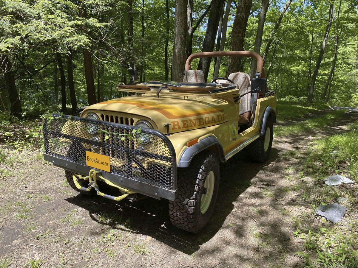 Jeep Cj-7 Hire Brooklyn, Ny