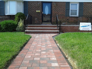 Photo: Elmont, NY walkway, steps and porch