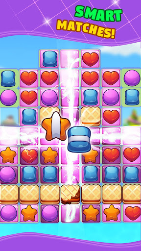 Gummy Dash Match 3 Puzzle Game - screenshot