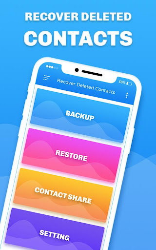 Recover Deleted All Contacts screenshots 1