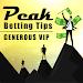 Peak Betting Tips Generous VIP icon