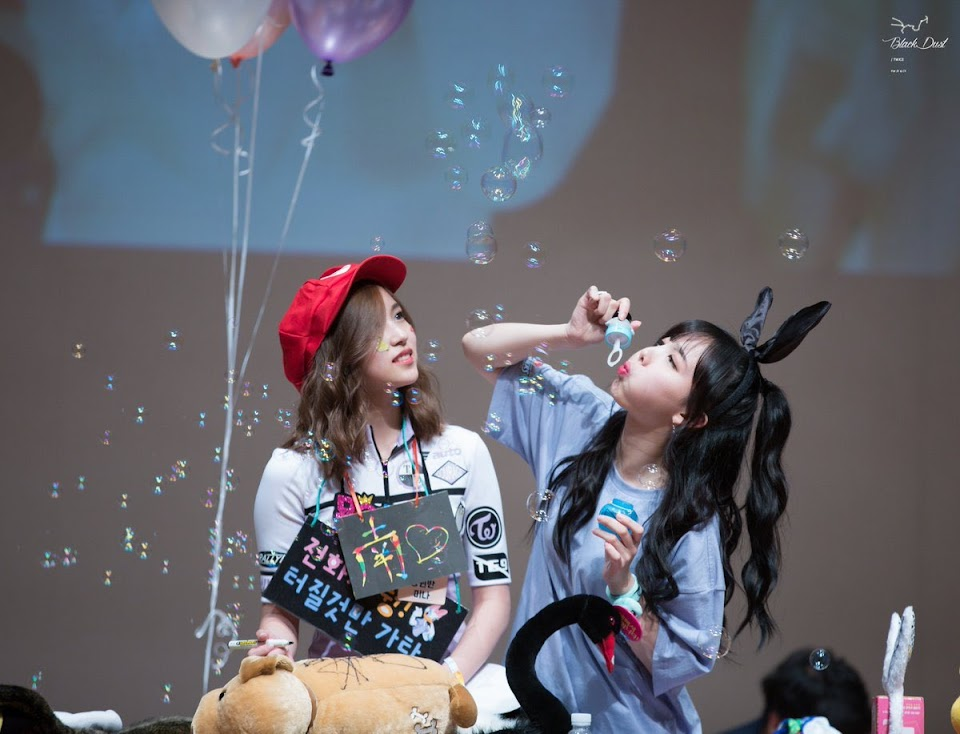 nayeon good bubbles
