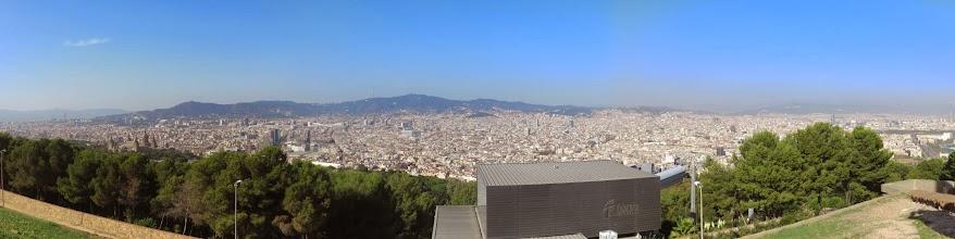Photo: Vista de la ciudad desde bastante alto.