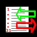 sCID - simple Cost Income Doc icon