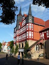 Photo: das Rathaus, eines der ältesten Deutschlands