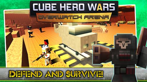 Cube Hero Wars Overwatch Arena