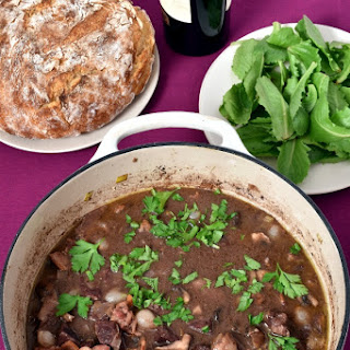 Beef Bourguignon (French Beef Stew).