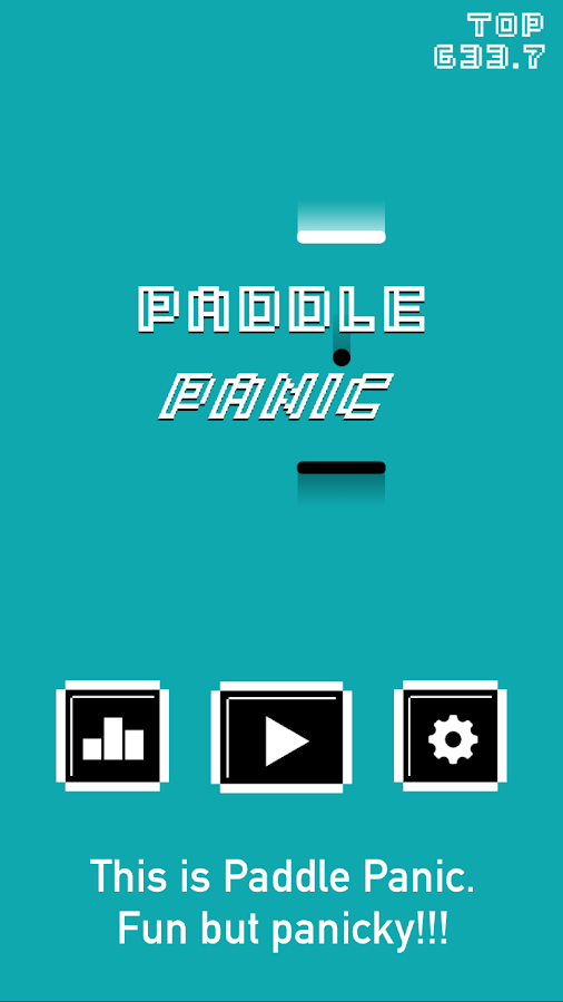 Paddle Panic- screenshot