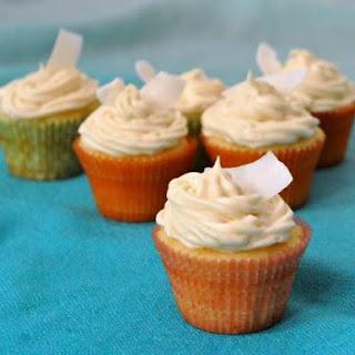 Pina Colada Cupcakes.