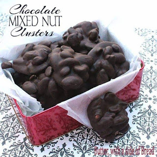 CHOCOLATE MIXED NUT CLUSTERS Recipe