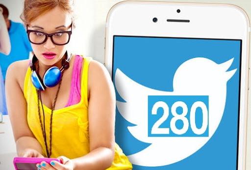 twitter 280 символов