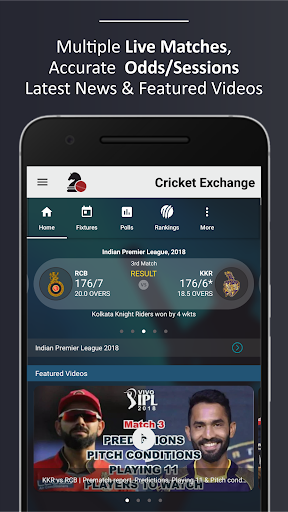 Cricket Exchange (Live Line) for PC