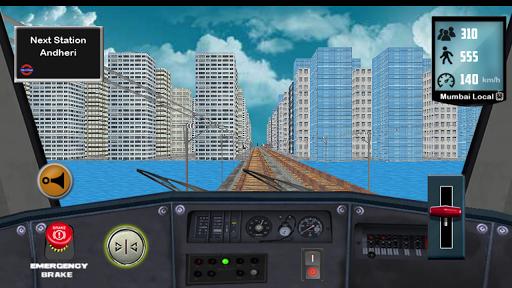 Train Driving Mumbai Local 1.5 screenshots 11