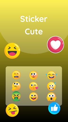 Gold Neon Keyboard screenshot 2