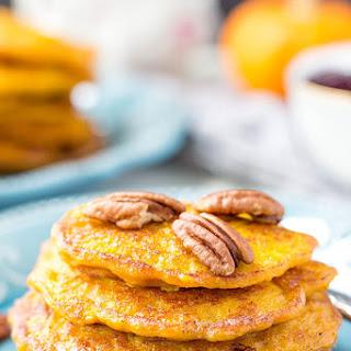 Mini Pancakes With Pumpkin and Apple (Sugar-Free).