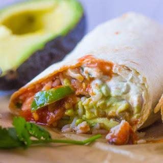 Veggie Burritos.