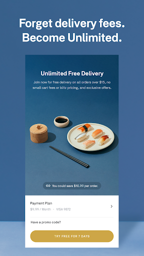 Screenshot for Postmates - Local Restaurant Delivery & Takeout in United States Play Store