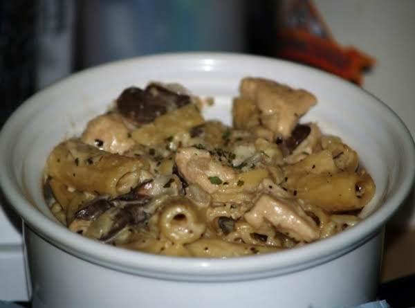 Creamy Chicken Rigatoni
