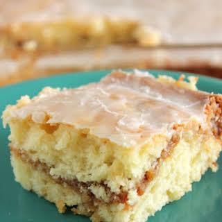 Honey Bun Cake From Scratch (no cake mix).