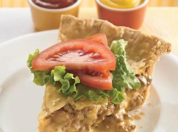 California Cheeseburger Pie Recipe