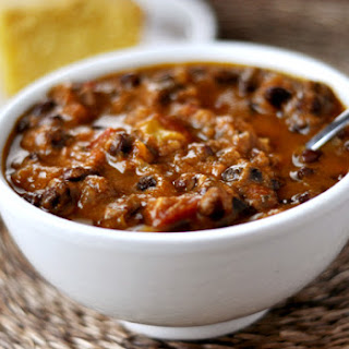 Black Bean And Pumpkin Chili.