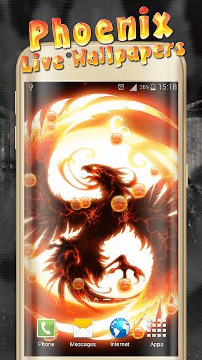 Phoenix Live Wallpaper  screenshots 1